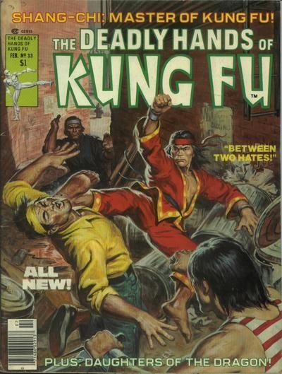 Deadly Hands Of Kung Fu 33 By Earl Norem Comics Comic Books Art War Comics