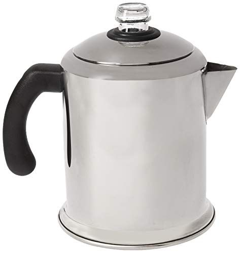 Farberware Classic Stainless Steel Yosemite 8 Cup Coffee
