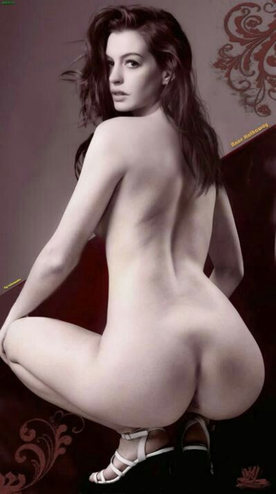 Anna halfaway naked