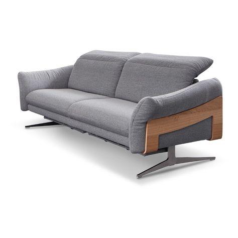 Himolla Sofa Simbach Grau Stoff In 2020 Sofa Himolla Sofa Und 3 Sitzer Sofa