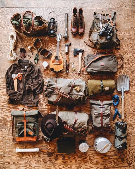 camp campismo USA Made - Canvas Backpacks and Leather Goods - Shop Goods Bradley Mountain Bushcraft Gear, Bushcraft Camping, Camping Survival, Outdoor Survival, Survival Prepping, Survival Skills, Survival Gear, Camping Gear, Outdoor Gear