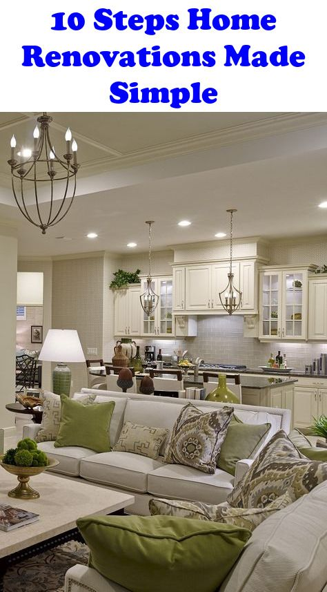 Home Renovations Made Simple – 10 Steps to a Creating a