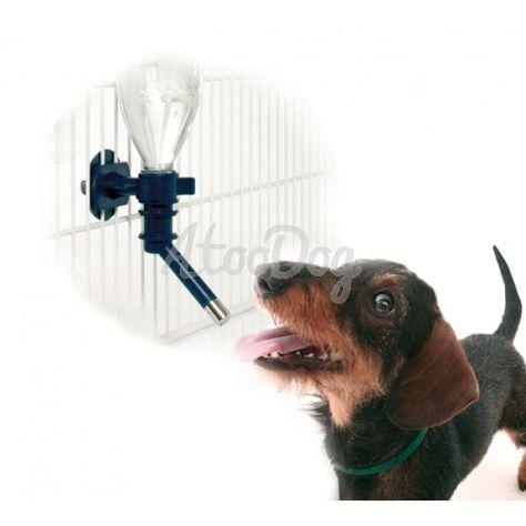 Distributeur d'eau AQUAFIX - Cage de transport pour chien - Transport chien