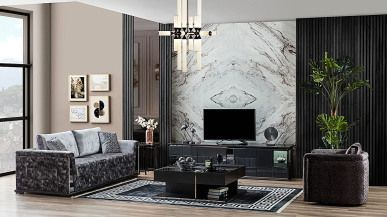 atlantik ahsap tv unitesi fume 2021 ev dekoru ahsap duvar mobilya