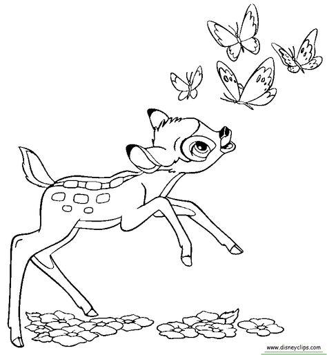disney bambi coloring pages  bing images  disney