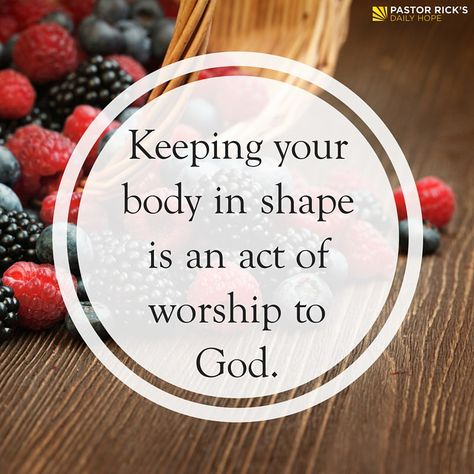 For change to happen in any area of your life, whether it's financial, vocational, educational, mental, or relational, you have to begin with the physical.  Learn why in this devotional from Pastor Rick's Daily Hope.