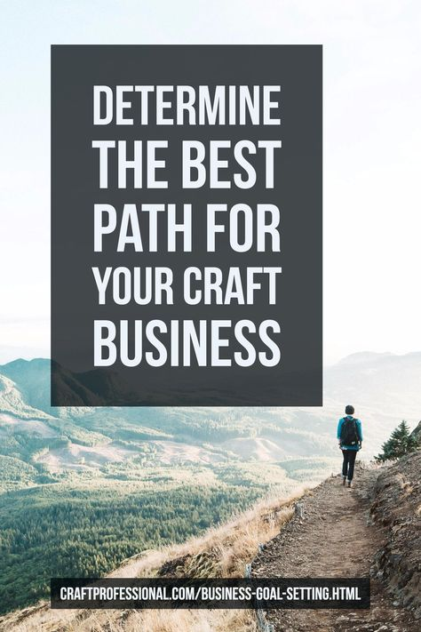 Goal Setting for Your Craft Business