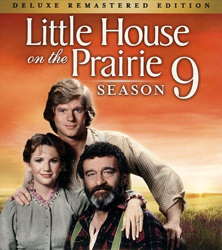 Season 9 Dvd Cover In 2020 Little House Episode Guide Prairie