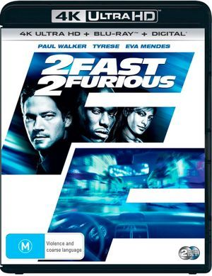 2 Fast 2 Furious 4k Uhd Blu Ray Uv With Images Blu Ray Blu