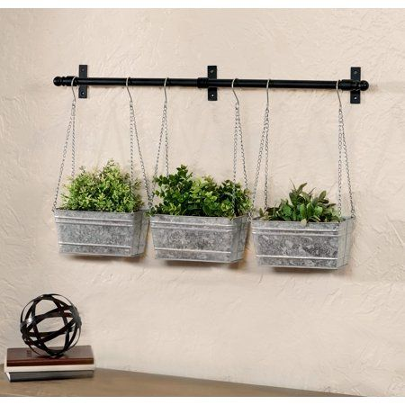 Patio Garden In 2020 Hanging Wall Planters Metal Wall Planters Planters