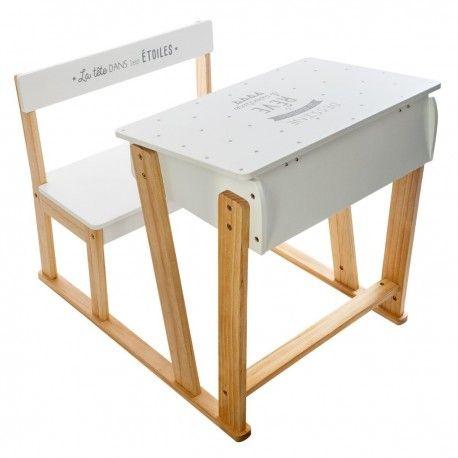 Bureau Enfant Pupitre Criture Bureau Enfant Atmosphera Blanc Et Pin Desk And Chair Set Writing Desk Desk