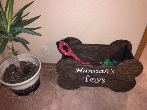 DIY Dog Toy Box: How to Build a Wood Bone-Shaped Dog Toy Box