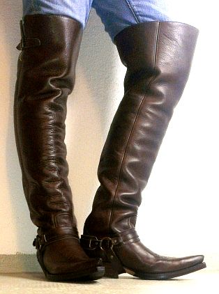 Just Boots | Men in tall boots | Pinterest