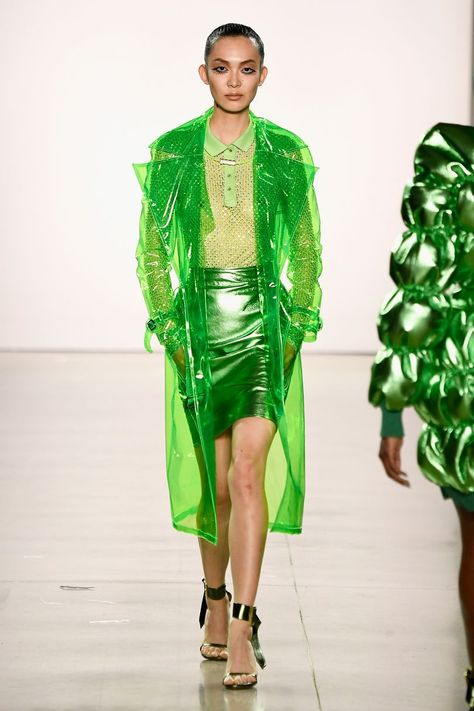 The complete Christian Cowan Fall 2018 Ready-to-Wear fashion show now on Vogue R…