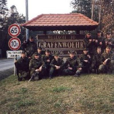 Army Garrison Grafenwoehr Information Army And Bavaria - Germany map grafenwoehr