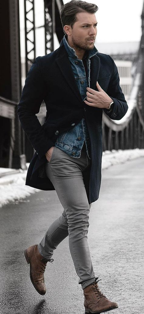 5 Fall Winter Essentials For Men Who Like Being Warm But Fashionable.  What do men need to be fashionable during the fall and winter? These five items are all you need to create an amazing outfit.  Stylish and edgy casual winter fall outfits for men.