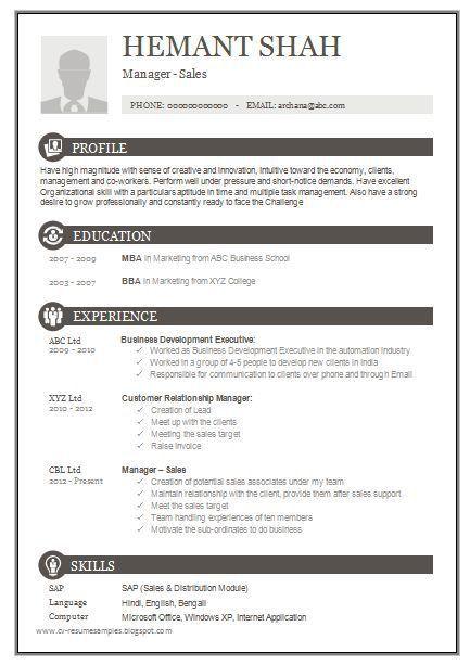 Best 20 Marketing Resume Ideas On Pinterest Resume Resume Pinterest Sampleresume Newresumeexamples Resume Format Download Resume Template Free Resume Format
