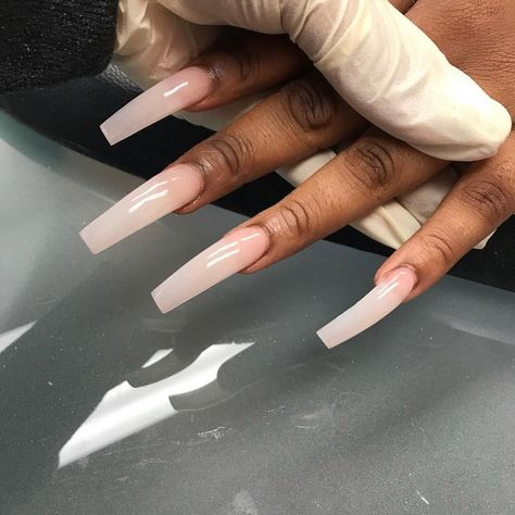 "Jadore Fancy Boutique™ on Instagram: ""Am I the only one who gets excited about a clean shape 😩😩😍😍 @nailsbysilky #HoustonNails"""