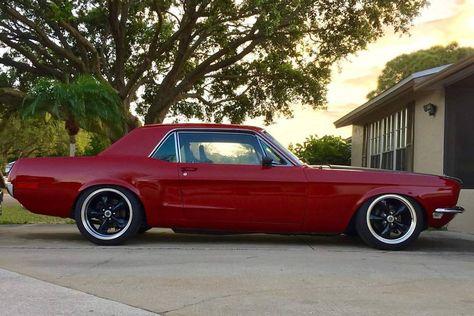 """2,766 tykkäystä, 4 kommenttia - @muzzy289 Instagramissa: """"1968 Ford Mustang Coupe Restomod"""""""