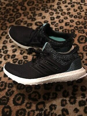 {F36190} adidas UltraBOOST 4.0 Parley Black Running Shoes *NEW*