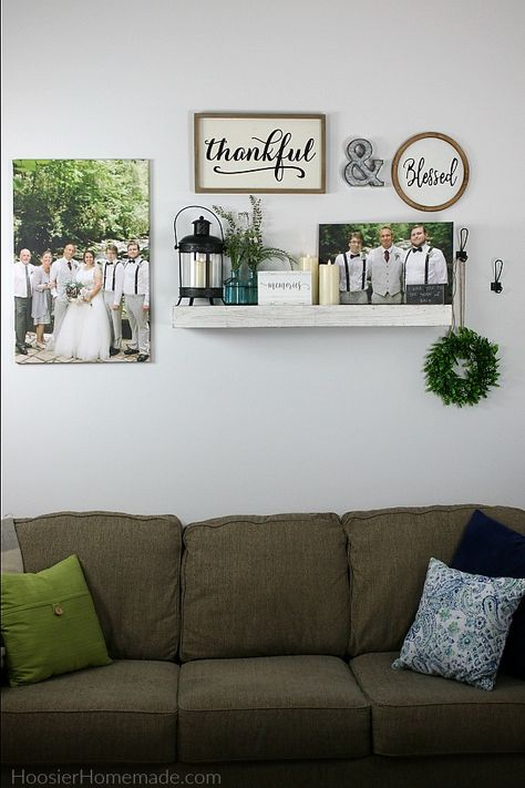 Wall Decor Using Canvas Prints