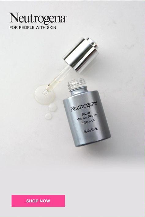 Try Neutrogena Rapid Wrinkle Repair Retinol Oil for visibly younger looking skin in just 1 week.