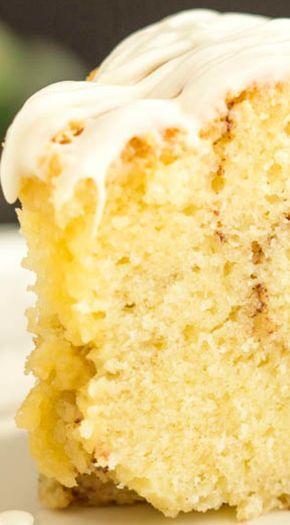 Homemade Sour Cream Cinnamon Roll Pound Cake Essen