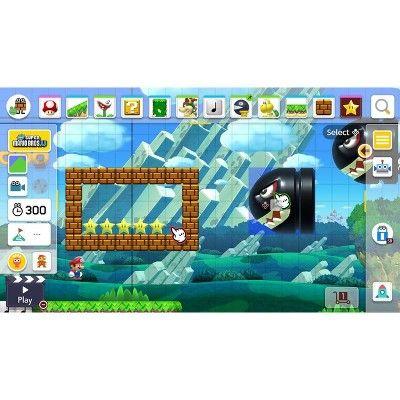 Super Mario Maker 2 Nintendo Switch Nintendo Switch Super Mario Nintendo Switch System