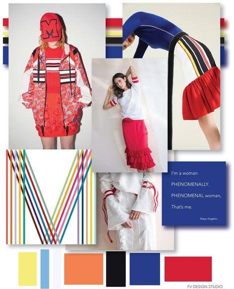 FASHION VIGNETTE: FV TREND x COLOR | WOMENS - PRETTY IN SPORTS #FashionTrendsAnalysis