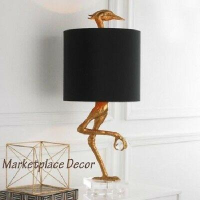 Ibis Table Lamp Heron Crane Bird Whimsical Table Lamp 35 H Cyan Design 05206 Table Lamp Design Unique Table Lamps Tall Table Lamps