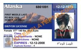 54 best novelty psd usa driver license template images on this is alaska usa state drivers license psd photoshop template on this psd template you can put any name address license no pronofoot35fo Gallery