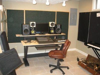 DIY Studio Table | Music Studio Stuff | Pinterest | Studio Table, Studio  Desk And Studio