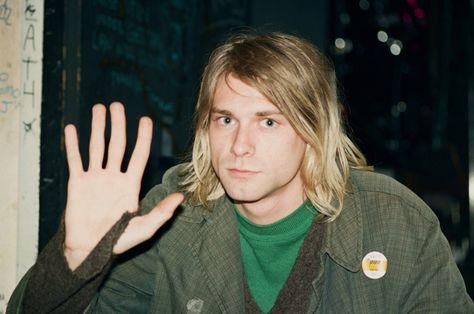 Kurt Cobain by Gilbert Blecken. Grunge, Donald Cobain, Nirvana Kurt Cobain, Dave Matthews Band, Dave Grohl, Star Wars, Foo Fighters, Celebs, Celebrities