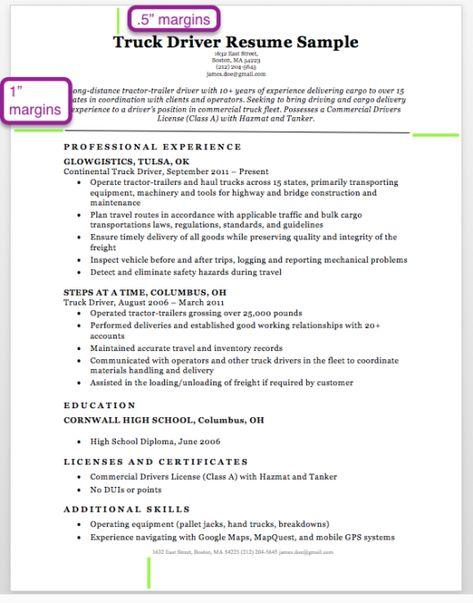 Resume Format Letter Size Resume Fonts Resume Format Job
