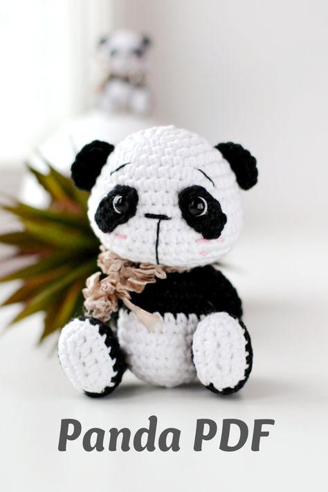 Amigurumi panda bear pattern   Crochet bear, Bear pattern   711x474