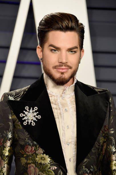 12 Twitter Adam Lambert Adam Style Vanity Fair Oscar Party