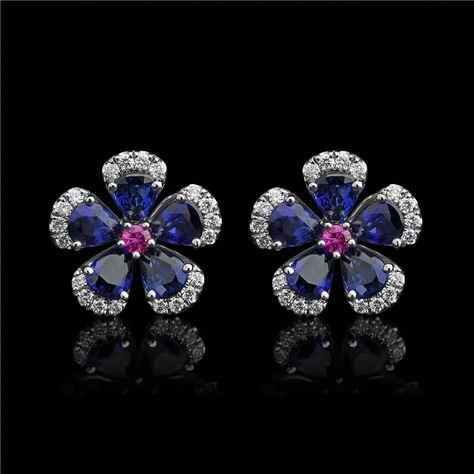 1//2CT Genuine Rose Coupe Diamant Argent Sterling 925 Femme Boucles d/'oreilles Créoles NOUVEAU $200