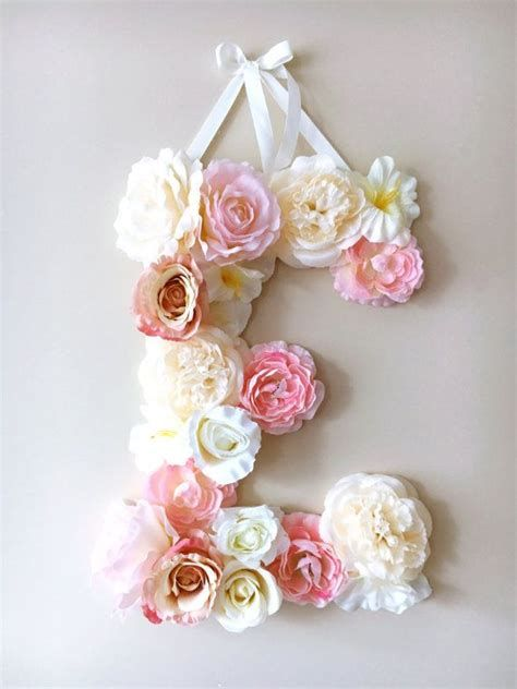 Letter A Floral Decoration Images 25 Best Ideas About Flower Letters On Nursery 22687 Flower Letters Diy Flower Letters Personalized Nursery Decor