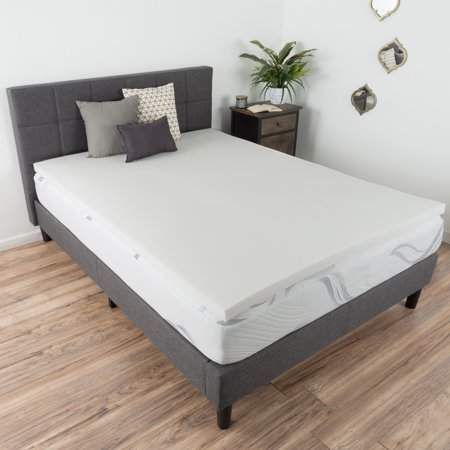 2 Memory Foam Mattress Topper King By Bluestone Mattress Foam