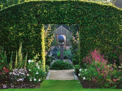 Gartenideen bilder  garten bilder gartendekorationen schöne Gartenideen dunkel ...