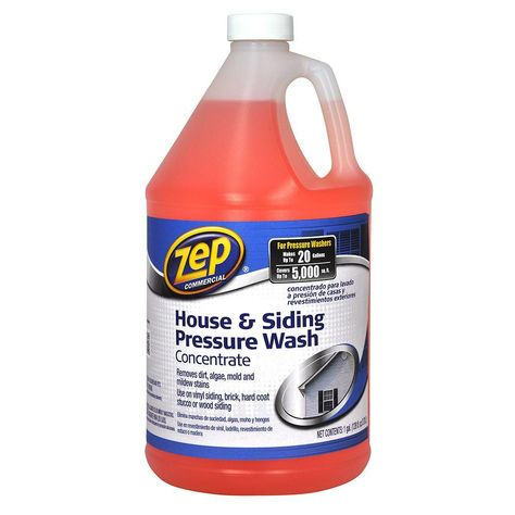 Zep 128 Oz House And Siding Pressure Wash Concentrate Vinyl