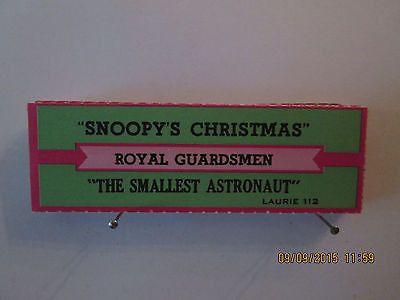 The Royal Guardsmen - Snoopy's Christmas Orig jukebox strip ...