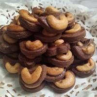 Resep Choco Cashew Cookies Kukis Kacang Mete Oleh Aliyapeliyang Aliyakitchen Resep Resep Masakan Natal Kacang Mete Kue Kering Mentega