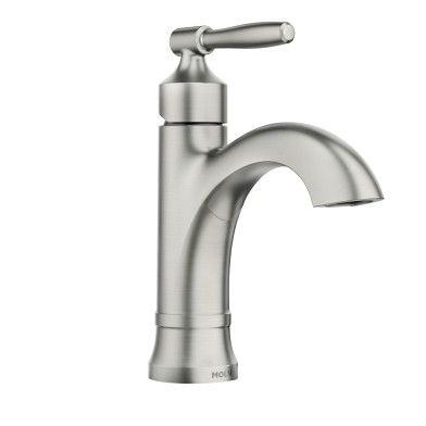 Halle Spot Resist Brushed Nickel One Handle High Arc Bathroom