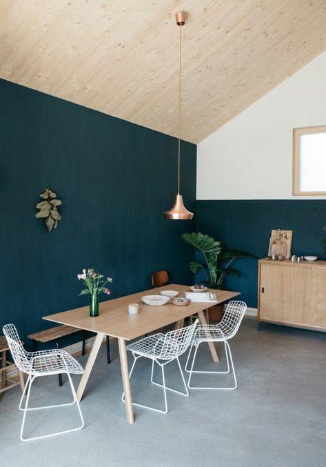 1001 Decors Avec La Couleur Canard Pour Trouver La Meilleure Solution Deco Chambre Bleu Deco Chambre Et Deco Salon