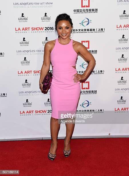 Actress Danielle Nicolet Arrives At The La Art Show And Los Angeles La Art Art Show Fashion News