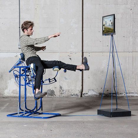 Govert Flint's Dynamic Chair Turns The Body Into A Computer Mouse - http://decor10blog.com/decorating-ideas/govert-flints-dynamic-chair-turns-the-body-into-a-computer-mouse.html