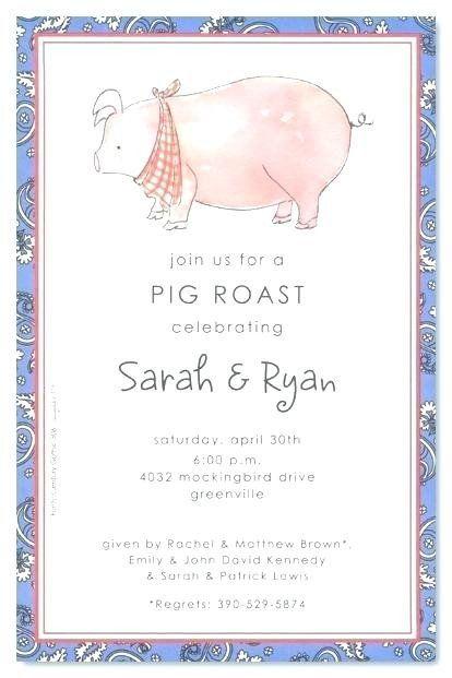 Pig Roast Invitation Template Free Beautiful Pig Roast Invitation Template Bellaro Invitation Template Pig Roast Invitation Sample Wedding Invitation Wording