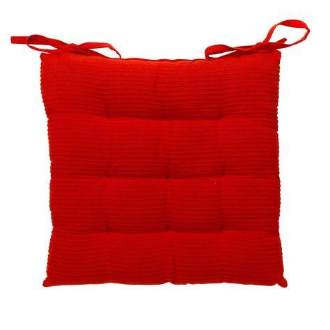 Coussin De Chaise Rouge Rouge Bamba Les Coussins De Chaise