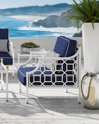 Castelle Barclay Butera Lounge Chair With Images Lounge Chair